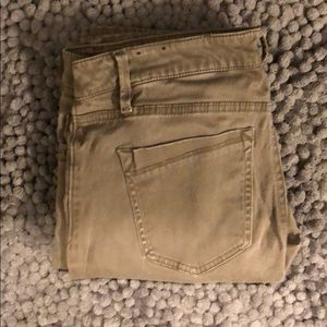 Express Stretch Skinny Brown Pant
